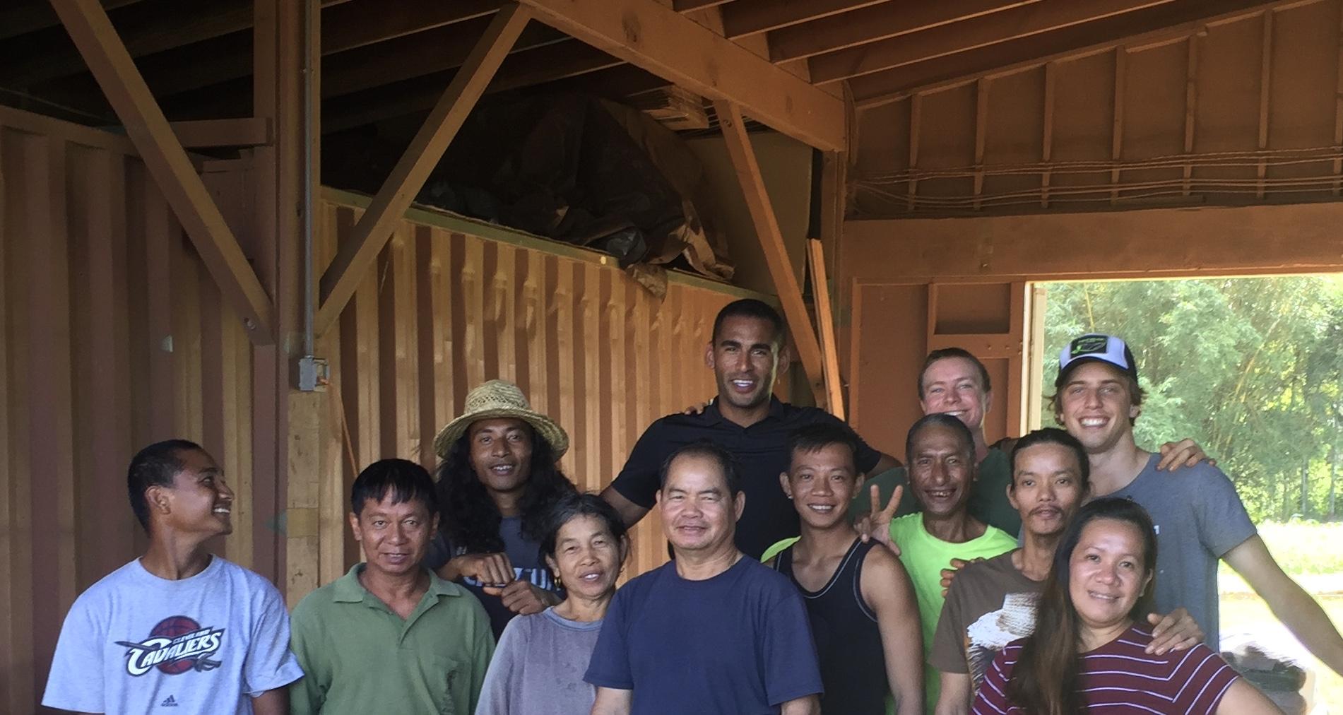 Kauai Organic Farms team