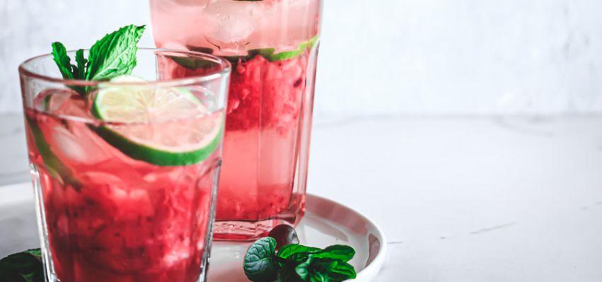 Energizing Strawberry Rose Hip & Cranberry Refresher