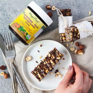 Chocolate Hazelnut Granola Bars